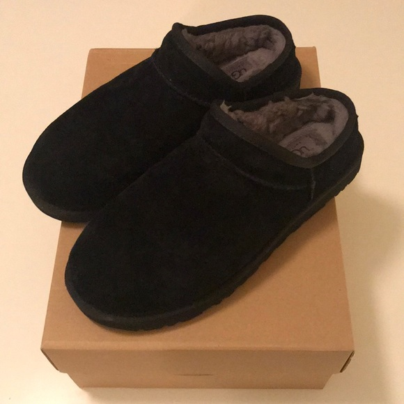 78df114fe1a UGG Women's Classic Slipper, Sz 9, Black, LIKE NEW